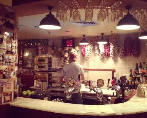 Frankie's cheesy Italian restaurant