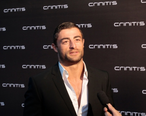 Rooster's star Anthony Minichiello